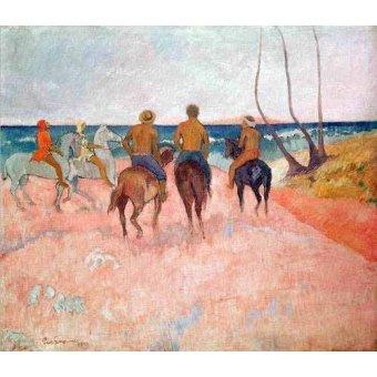 - Cuadro -Hiva Hoa- - Gauguin, Paul