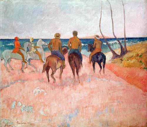 cuadros-de-retrato - Cuadro -Hiva Hoa- - Gauguin, Paul