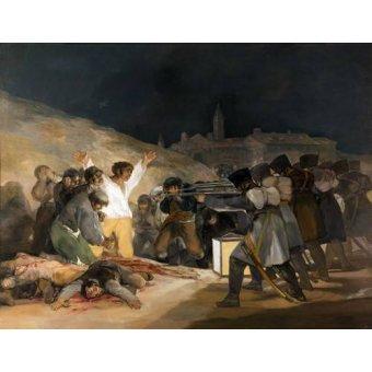 - Cuadro -Ejecución de los defensores de Madrid, 3 de mayo de 1808- - Goya y Lucientes, Francisco de