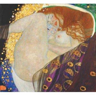 cuadros de retrato - Cuadro -Danae- - Klimt, Gustav