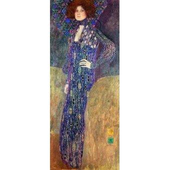 - Cuadro -Emilie Floege- - Klimt, Gustav
