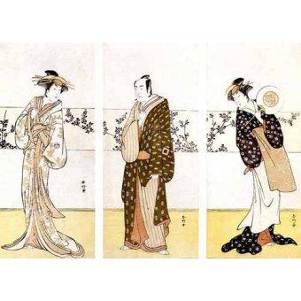 - Cuadro -Actores japoneses- - Sunko, Kaisukawa