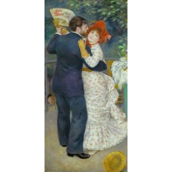 - Cuadro -A Dance in the Country- - Renoir, Pierre Auguste