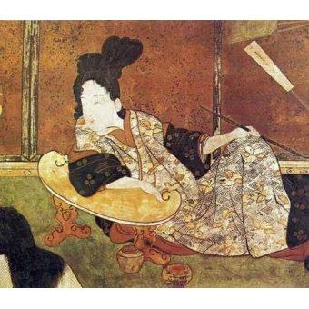 cuadros etnicos y oriente - Cuadro -jpk00081- - _Anónimo Japones