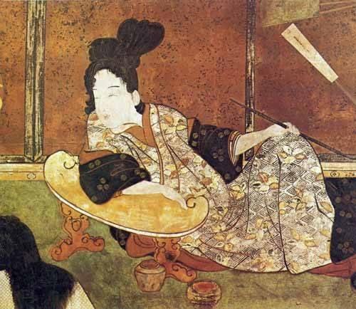 cuadros-etnicos-y-oriente - Cuadro -jpk00081- - _Anónimo Japones