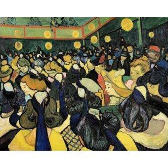 - Cuadro -La sala de baile en Arles- - Van Gogh, Vincent
