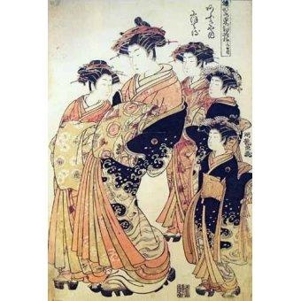 cuadros etnicos y oriente - Cuadro -jpk00265- - _Anónimo Japones