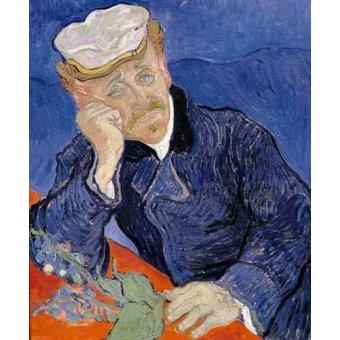 - Cuadro -Doctor Paul Gachet- - Van Gogh, Vincent