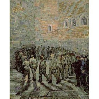- Cuadro -La prisión de los convictos- - Van Gogh, Vincent
