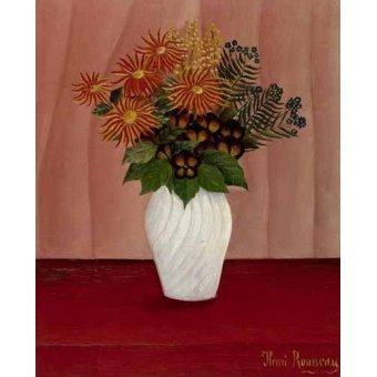 - Cuadro -Flores- - Rousseau, Henri