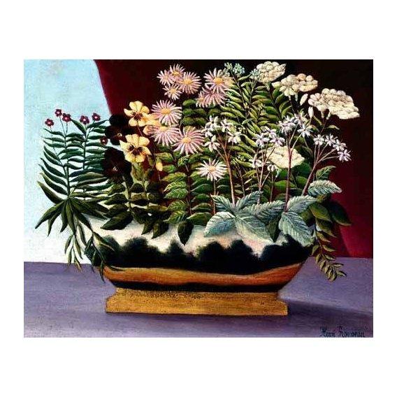 cuadros de flores - Cuadro -Banquete de Poeta-