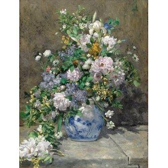 - Cuadro -Ramo de Primavera- - Renoir, Pierre Auguste