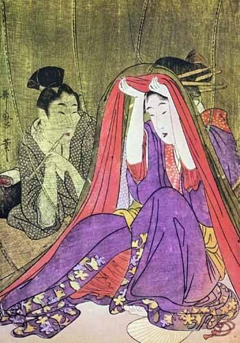 cuadros-etnicos-y-oriente - Cuadro -jpk00784- - _Anónimo Japones