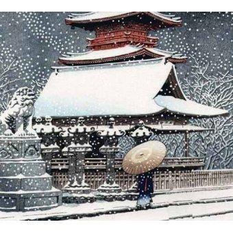 cuadros etnicos y oriente - Cuadro -js469b- - _Anónimo Japones