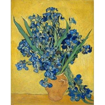 cuadros de flores - Cuadro -Lirios- - Van Gogh, Vincent