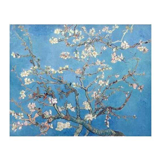 cuadros de flores - Cuadro -El almendro-