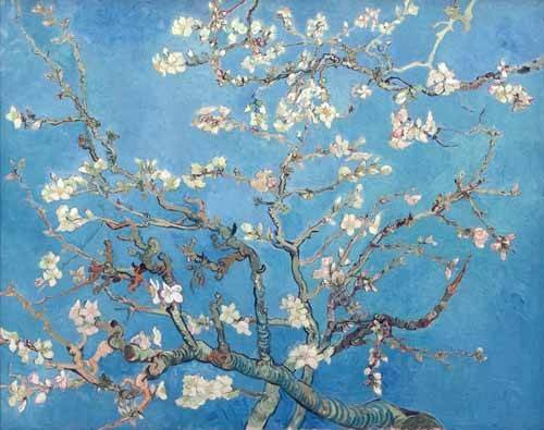 cuadros-de-flores - Cuadro -El almendro- - Van Gogh, Vincent