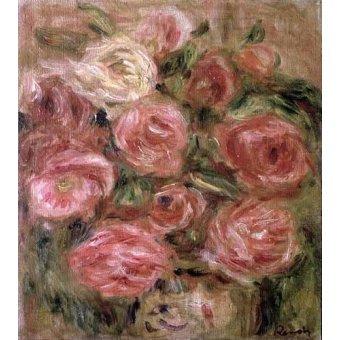 - Cuadro -Flores- - Renoir, Pierre Auguste