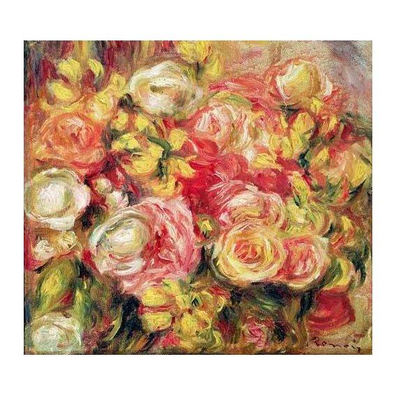 cuadros de flores - Cuadro -Rosas 1915-