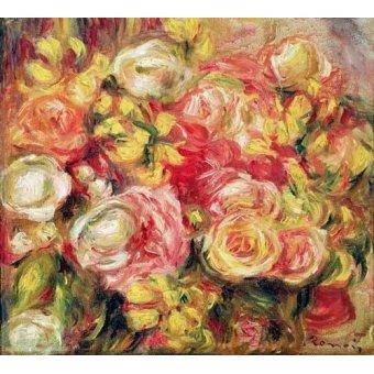 - Cuadro -Rosas 1915- - Renoir, Pierre Auguste