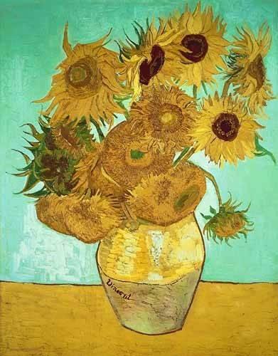 cuadros-de-flores - Cuadro -Girasoles 3- - Van Gogh, Vincent