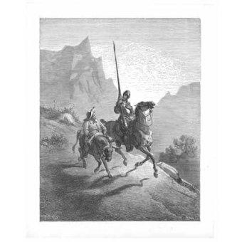 - Cuadro -El Quijote 0-0- - Doré, Gustave