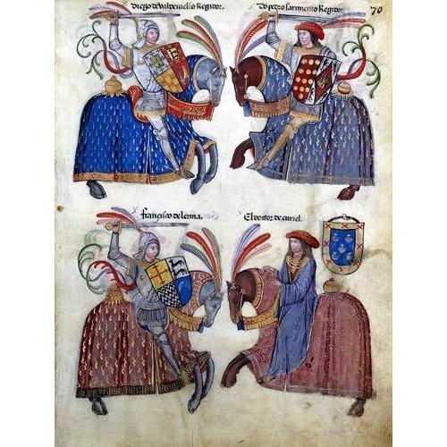 Cuadro -Libro de los caballeros de Santiago-2-