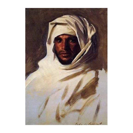 cuadros etnicos y oriente - Cuadro -A Bedouin Arab-