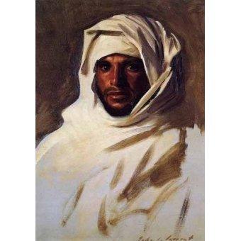 - Cuadro -A Bedouin Arab- - Sargent, John Singer