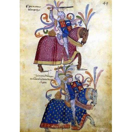 cuadros de mapas, grabados y acuarelas - Cuadro -Libro de los caballeros de Santiago-4-