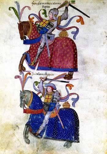 cuadros-de-mapas-grabados-y-acuarelas - Cuadro -Libro de los caballeros de Santiago-5- - _Anónimo Español