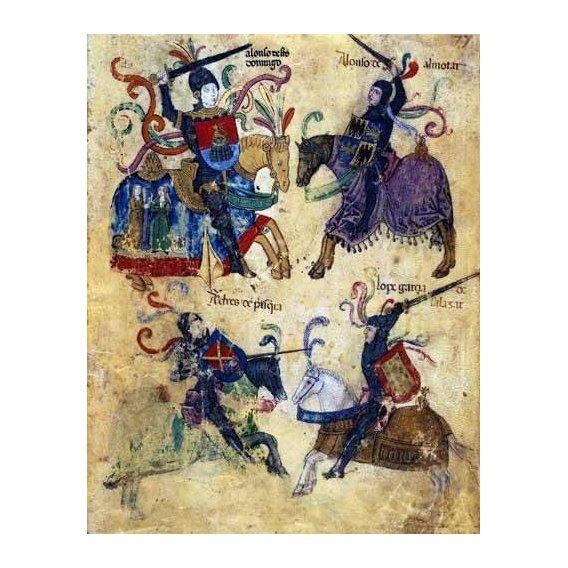 cuadros de mapas, grabados y acuarelas - Cuadro -Libro de los caballeros de Santiago-6-