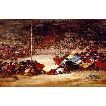 - Cuadro -La corrida- - Goya y Lucientes, Francisco de
