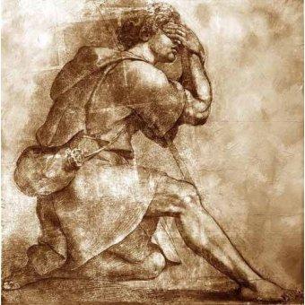 cuadros de mapas, grabados y acuarelas - Cuadro -Moses- - Rafael, Sanzio da Urbino Raffael