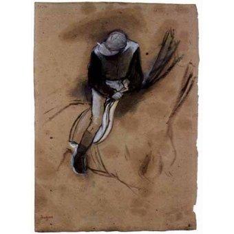 Cuadro -El jockey-