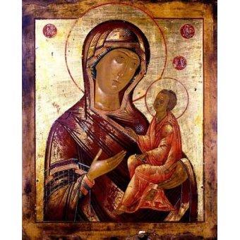 - Cuadro -La Virgen Hodogetria- - _Anónimo Ruso