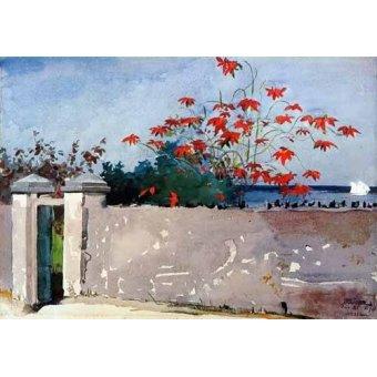 - Cuadro -Un Muro, Nassau- - Homer, Winslow