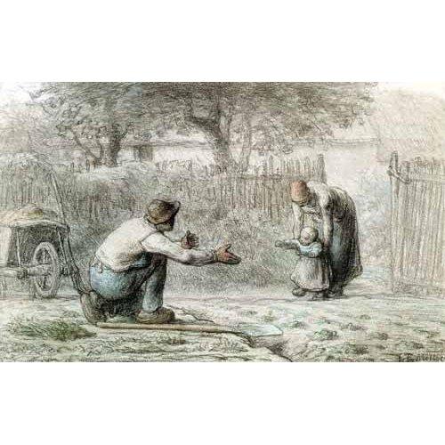 Cuadro -Los primeros pasos, 1859-