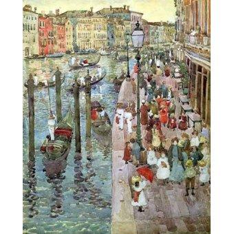 - Cuadro -Gran Canal de Venecia, 2- - Prendergast, Maurice