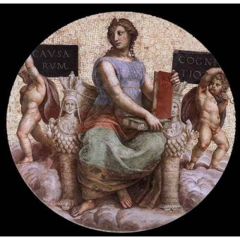 cuadros de mapas, grabados y acuarelas - Cuadro -Stanza della Segnatura - Philosophy- - Rafael, Sanzio da Urbino Raffael