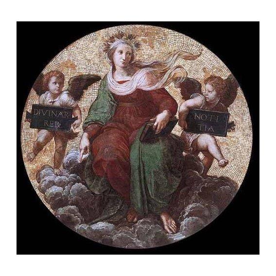 cuadros de mapas, grabados y acuarelas - Cuadro -Stanza della Segnatura - Theology-