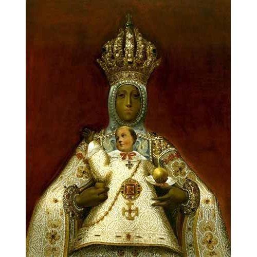 cuadros religiosos - Cuadro -La Virgen del Sagrario-