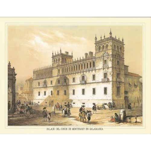 Cuadro -Palacio del Conde de Monterrey en Salamanca-