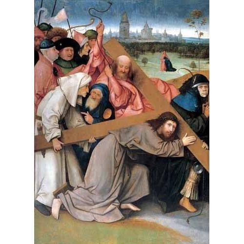 Cuadro -Cristo portando la cruz-