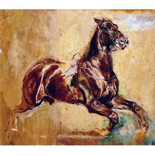 Cuadro -Estudio de caballo-