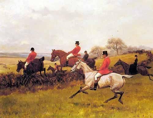 cuadros-de-fauna - Cuadro -Over The Hedge- - Blinks, Thomas