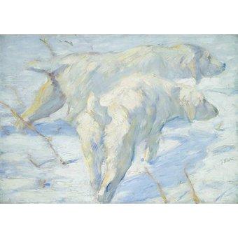 - Cuadro -Perros pastores siberianos- - Marc, Franz