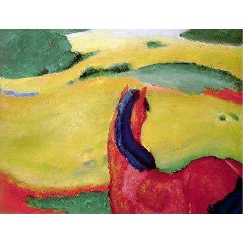Cuadro -Caballo en un paisaje-