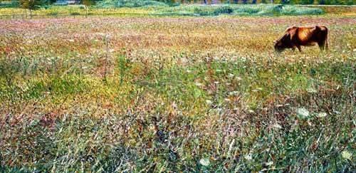 cuadros-de-paisajes - Cuadro -Roman countryside- - Boccioni, Umberto