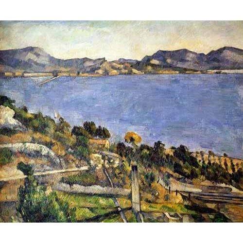 cuadros de marinas - Cuadro -La bahía de Marsella desde L´Estaque-